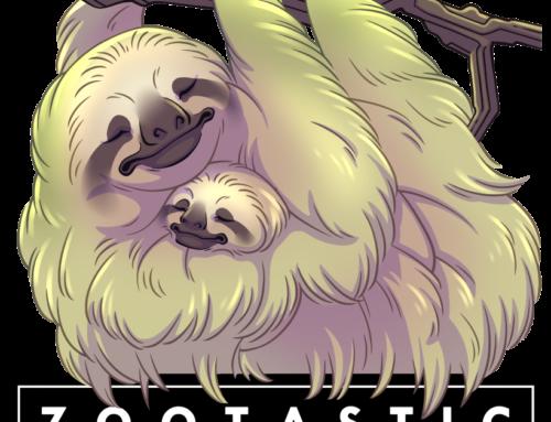 Mom & Baby Sloth